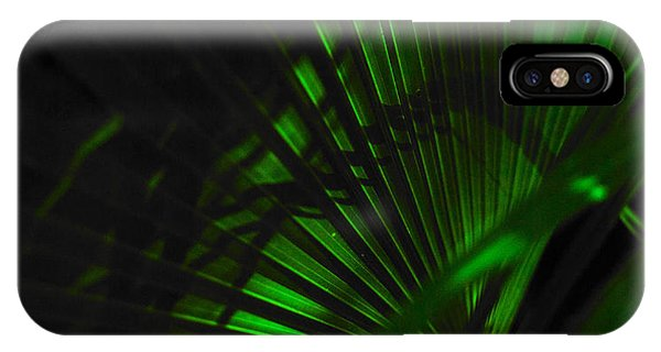 Green Fan IPhone Case