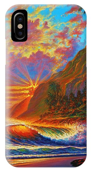 Green Flash IPhone Case