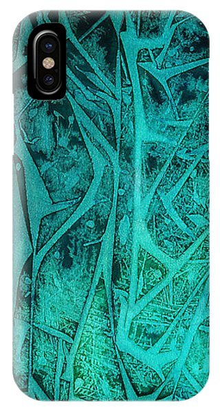 iPhone Case - Green Forest by Alene Sirott-Cope