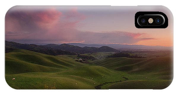 Monterey iPhone Case - Green Hills Of Monterey County by Bill Roberts