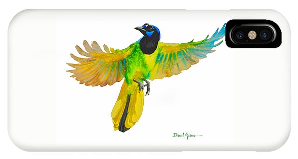 Da175 Green Jay By Daniel Adams IPhone Case
