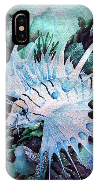 Green Lionfish IPhone Case
