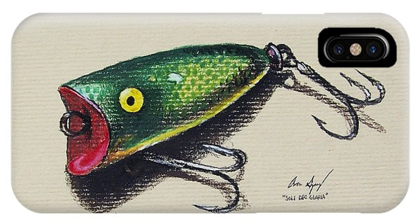 Green Lure IPhone Case