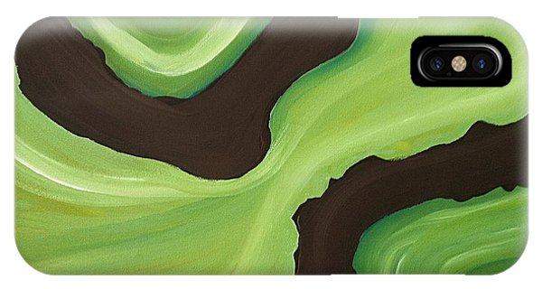 Donation iPhone Case - Green by Megan Washington