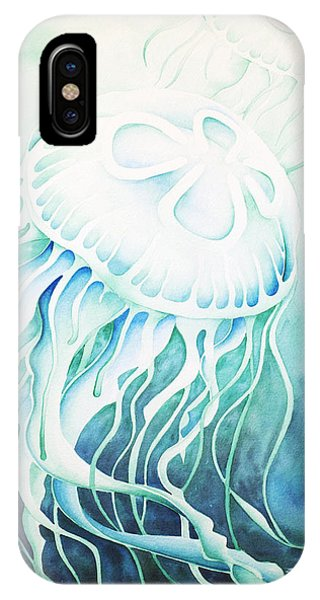 Green Moon Jelly IPhone Case
