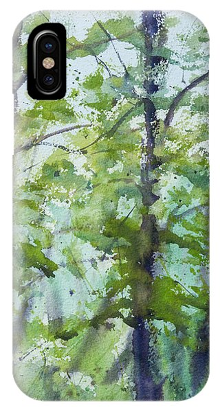 Green Morning 2 IPhone Case