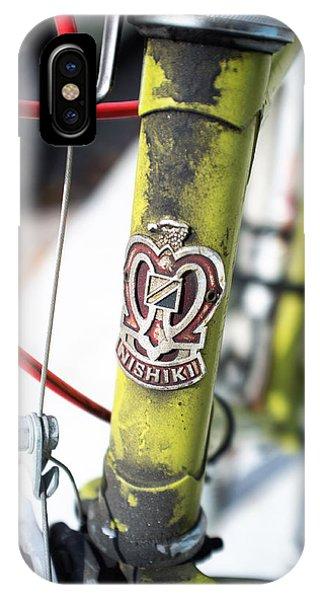 Green Nishiki Bicycle Phone Case by Tanya Harrison