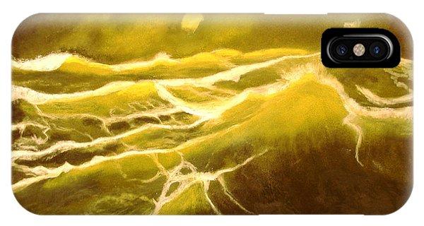 Green Ocean IPhone Case