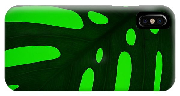 Green On Green IPhone Case