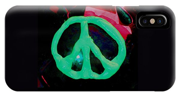 Peace Symbol IPhone Case