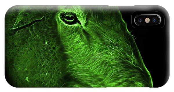 Dorset iPhone Case - Green Polled Dorset Sheep - 1643 F by James Ahn