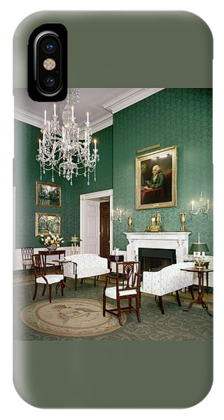 Green Room In The White House IPhone Case