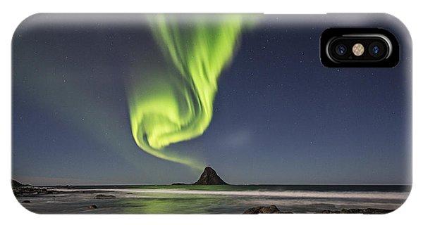 Green Smoke IPhone Case