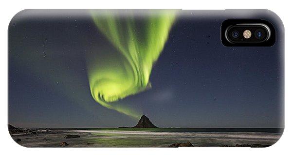 Green Smoke II IPhone Case