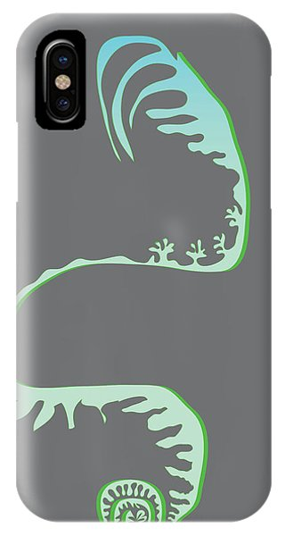 Green Spiral Evolution IPhone Case