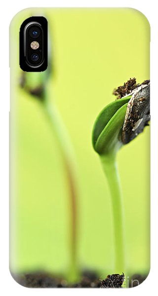 Green Sprouts IPhone Case