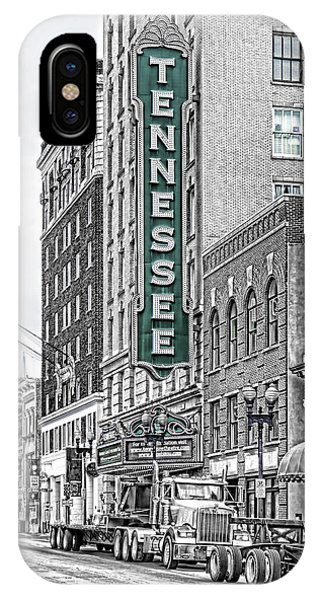 Green Tennessee Theatre Marquee IPhone Case
