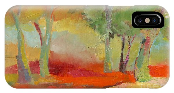 Green Trees IPhone Case
