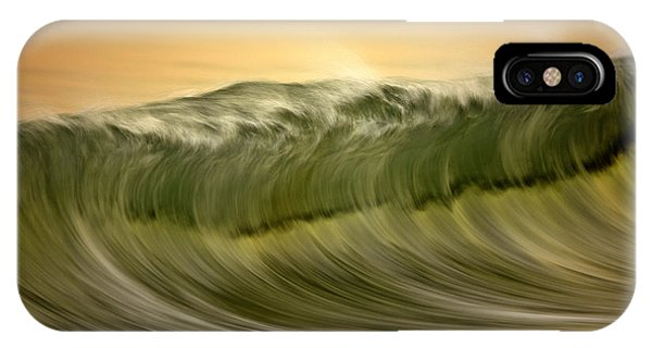 Green Wave #2  C6j7496 IPhone Case