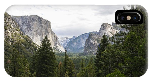 Green Yosemite Valley IPhone Case