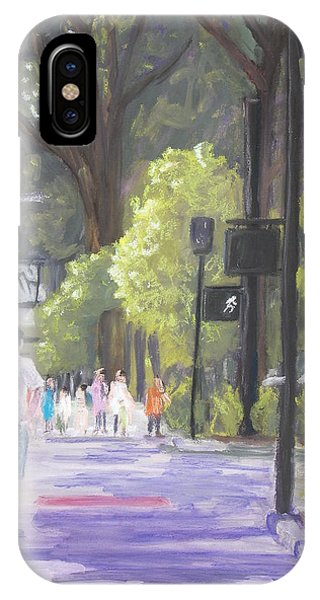 Greenville Street Scene IPhone Case