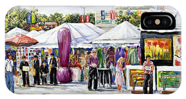 Greenwich Art Fair IPhone Case