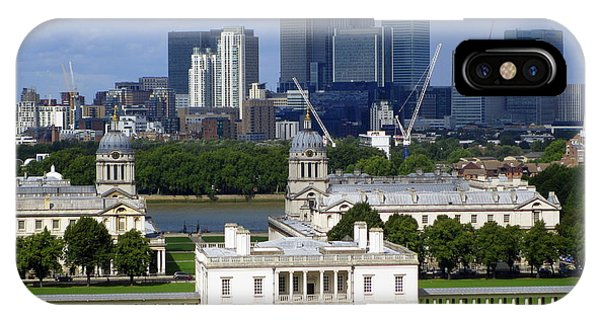 Greenwich View Phone Case by Donald Turner