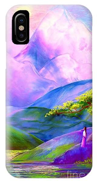 Greeting The Dawn IPhone Case