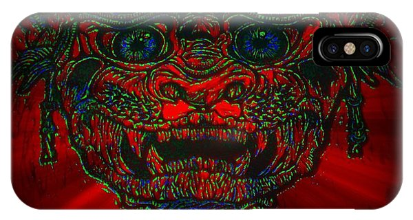 Gremlin In Dynamic Color IPhone Case