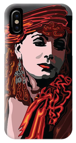 Greta Garbo Hollywood The Golden Age Phone Case by Larry Butterworth