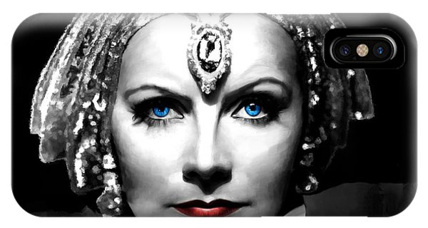 Greta Garbo Portrait IPhone Case