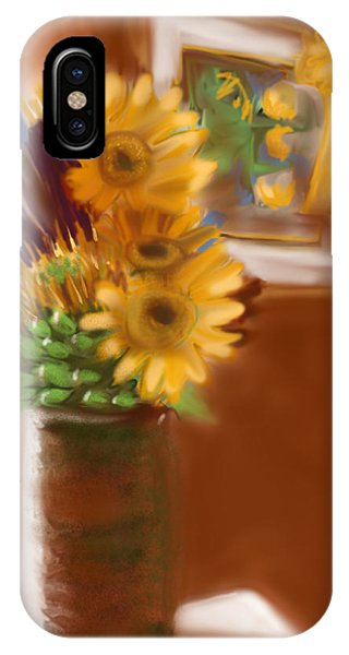 Gretchens Flowers IPhone Case