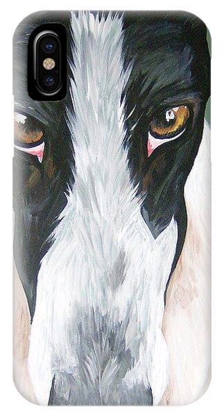 Greyhound Eyes IPhone Case