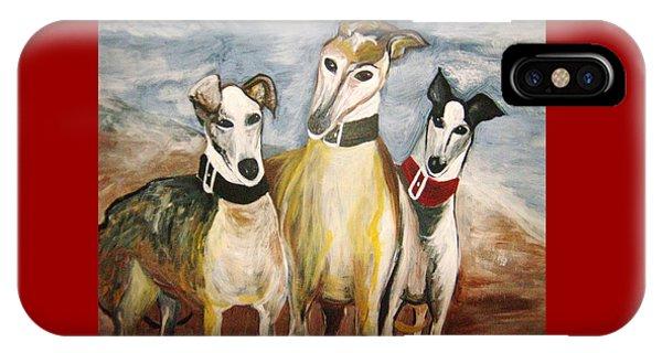Greyhounds IPhone Case