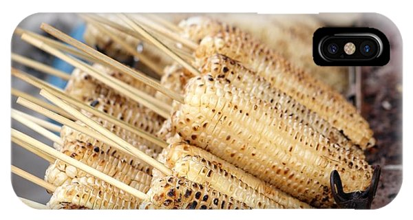 Grilled White Corn Cobs IPhone Case