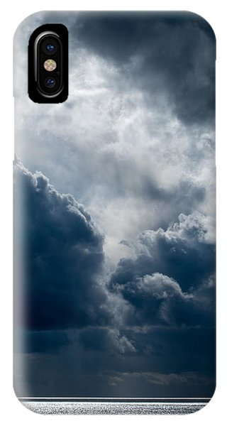 Grim Day At The Beach IPhone Case