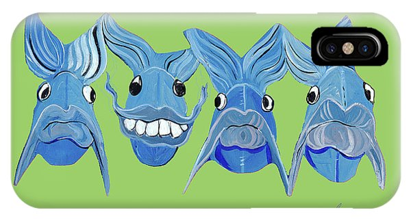 Grinning Fish IPhone Case