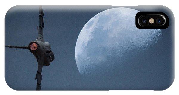 Gripen Moon IPhone Case