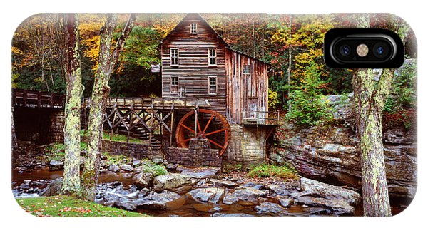 Grist Mill In Babcock St. Park IPhone Case