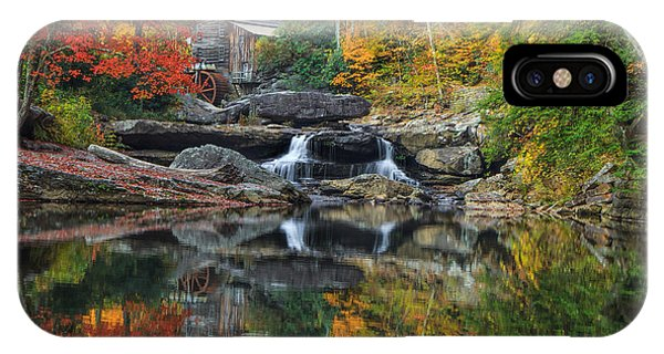 Grist Mill In The Fall IPhone Case