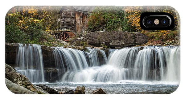Grist Mill With Vibrant Fall Colors IPhone Case