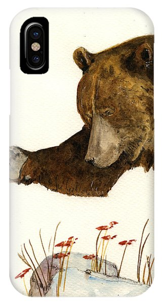 Grizzly Bear First Part IPhone Case