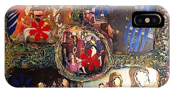 Alfredo Garcia iPhone Case - Groovy Celebrations By Alfredo Garcia by Alfredo Garcia