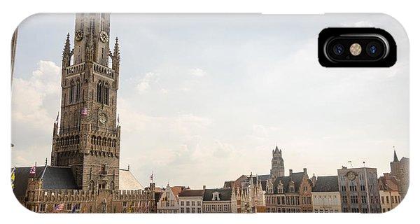 Grote Markt Brugge IPhone Case