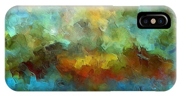 Abstract Expression iPhone Case - Grotto by Ely Arsha