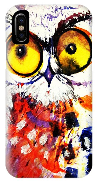 Groucho Owl IPhone Case