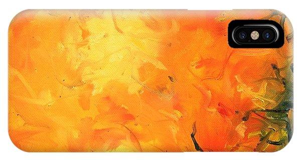 Grounded Orange IPhone Case