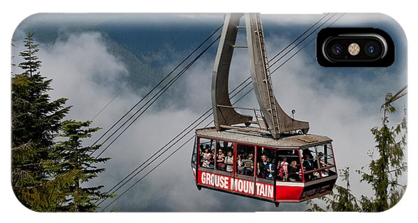 Grouse Mountain Skyride IPhone Case