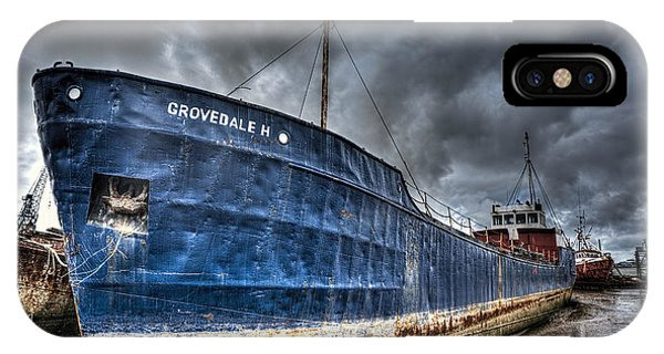 Grovedale H IPhone Case