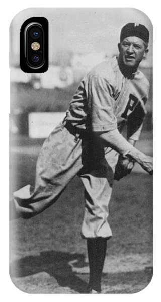 Baseball Hall Of Fame iPhone Case - Grover Cleveland Alexander 1915 by Unknown